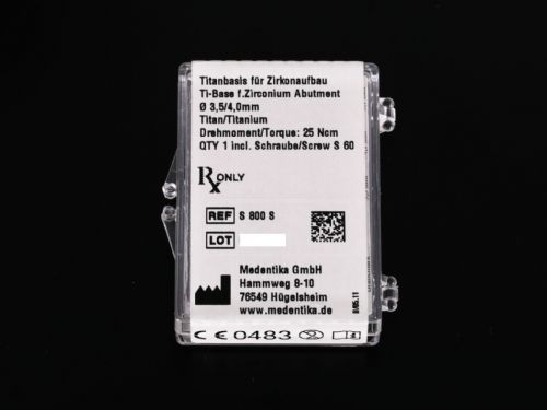 Medentika Desntsply AstraTech Compatible TX Ti Base Ø 3.5-4.0mm REF: S800